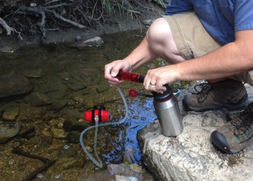 Using a water filter